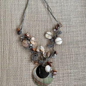 Silpada Sterling Silpada Shell necklace